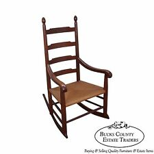 Bench Made Solid Walnut Shaker Style Rocker Rocking Chair