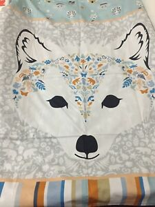 **Exclusive**  Arctic Fox design Cot Bed Cover