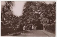 Station Lane Hornchurch Essex RP Postcard, B701