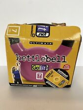 GoFit 7lb Contour Kettlebell with DVD