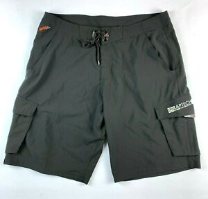 Rapala Fishing Mod-Tech Premium Boardies Board Shorts Size Men's W36""