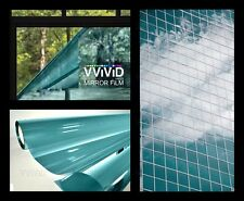Vvivid 1ft x 5ft One way mirror blue window film