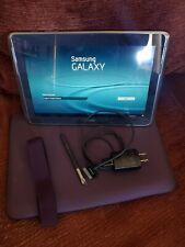 Samsung Galaxy Note 10.1 GT-N8013EA 16GB WiFi Dark GreyW/ Stylus Charger & case