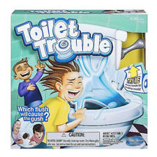 FUNNY Toilet Trouble Hilarious Game With Flush Sound Effects Kids Children Toys