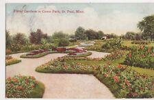 USA, Floral Gardens in Como Park, St. Paul, Minn. Postcard, B226
