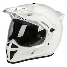 KLIM KRIOS HELMET ECE/DOT MEDIUM - GLOSS WHITE