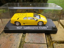 SOLIDO FRANCE: LAMBORGHINI Diablo jaune n° 1527 état neuf + boite plastique