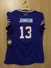 NFL BUFFALO BILLS  BNWT  AMERICAN FOOTBALL SHIRT JERSEY NIKE WOMENS JOHNSON   13 e1b5270bc1e