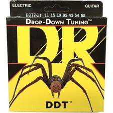 DR Strings DDT7-11 Drop Down Tuning Extra Heavy Electric Guitar Strings 11-65