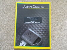 John Deere 180B Manual del operador del greensmower (ref151)