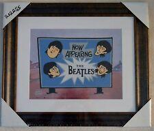 The Beatles Now Appearing Animation Sericel Ltd Ed Framed W/Coa Nib