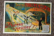 Robert Houdin magician poster #8 1894 Le Chateau de Mesmer