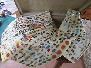 Anstecknadeln - Pins - große Sammlung Konvolut ca. 550 Stück