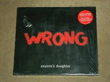 Wrong by Anyone's Daughter (CD, Oct-2004, Inside Out) Bonus Tracks sealed