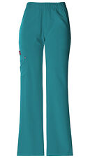 Dickies Mid Rise Pull-On Cargo Pant 82012 Size L (Teal)