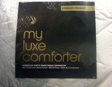 Department Store My Luxe European White Goose Down Comforter KING Medium Weight