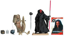 STAR WARS SITH SPEEDER WITH DARTH MAUL ACTION FIGURE (PHANTOM MENACE)