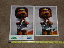 Omaha Royals/Omaha Storm Chasers/Signed Casey The Lion 1997 B-Day Photo Giveaway