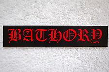 Bathory Sticker Decal (S212)