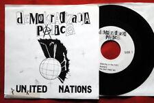 "DEMOKRATIZACIJA PALICE YUGO PUNK HARD CORE EXYU 7""PS EP"