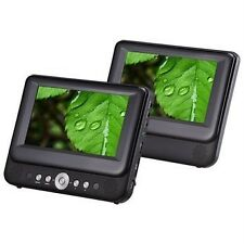 "Bush 9957BUK 9"" LCD Twin 2 Screen portable car DVD USB Players multi region C75"