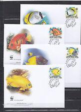 Pitcain Islands 2010 - FDC - Vissen/Fish/Fische -> WWF