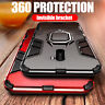 Armor Cover For Xiaomi Pocophone F1 Case Shockproof Magnetic Holder Ring Bracket