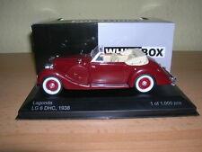 Whitebox Lagonda LG 6 LG6 DHC Cabrio Baujahr 1938 rot red, 1:43 Lim. 1000 Stück