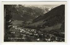 AK St. Anton am Arlberg, Gesamtansicht, 1935 Foto-AK