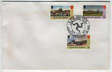 FDC AC93 Isle of Man 1975 Castletown CPA Executive Committee Visit 3v