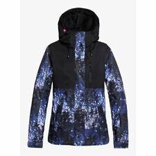 Roxy Jetty 3 IN 1 Chaqueta Medieval Azul Sparkles 2020 Snowboard Mujer X