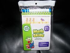 Leap Frog Math Skills K-1 Dry Erase Activity Book New