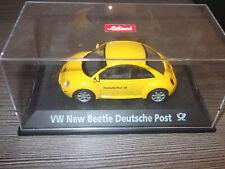Schuco VW New Beetle Deutsche Post   1:43 in Vitrine