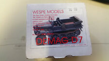 Demag D7 Wespe Resin Models 1:48 Wes 48009