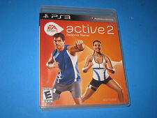 EA Sports Active 2  Personal Trainer  Sony PS3  DISC       4K3