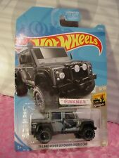 '15 LAND ROVER DEFENDER DOUBLE CAB #14 US ✰Gray✰BAJA BLAZERS✰2019 Hot Wheels✰ A