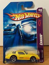 2007 Hot Wheels yellow '79 CAMARO Z-28 moc 44/180 pr5 CAMARO series