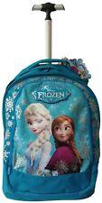 Trolley Viaggio Seven Zaino Scuola Disney Frozen Magia Del Ghiaccio Cambia Color