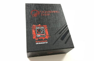 LIGHTENING DARK Super Bright 9006 LED Headlight Bulbs,CREE Chips Conversion Kit