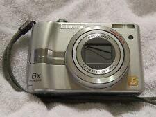 Panasonic LUMIX DMC-LZ7 7.2MP Digital Camera - Silver; Excellent Working Order!