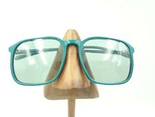 Vintage Metro Mirage 9220 Sea Green Square Horn-Rimmed Sunglasses Frames
