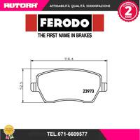 FDB1617 Kit pastiglie freno a disco (MARCA-FERODO)
