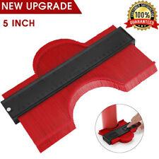 Plastic Contour Duplication Gauge Profile Ruler Tool Copy 5 Inch Saker Green/Red