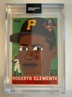 Topps Project 2020 Roberto Clemente Artist Keith Shore #182 PR 3,598 Pirates HOF