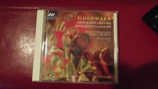 ASV DELETED GOLDMARK(1830-1915) STRING QUARTET QTRING QUINTET 4TH DIMENSION QUAR