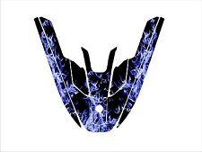 kawasaki 650 sx jet ski wrap graphics pwc stand up jetski decal kit racing blue