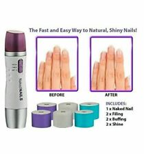 Naked Nails Electronic Manicure Tool - File Buff Shine Shiny 6 Replacement Heads