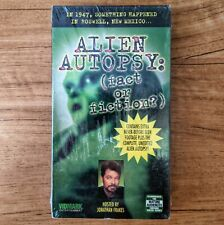 Alien Autopsy: Fact or Fiction (VHS, 1999, Uncut)