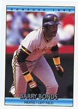 1992 DONRUS #243 BARRY BONDS - PITTSBURGH PIRATES - FREE SHIPPING!