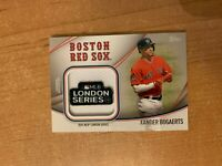 2020 Topps Series 2 - Xander Bogaerts - Jumbo Jersey Sleeve Patch Relic RED SOX